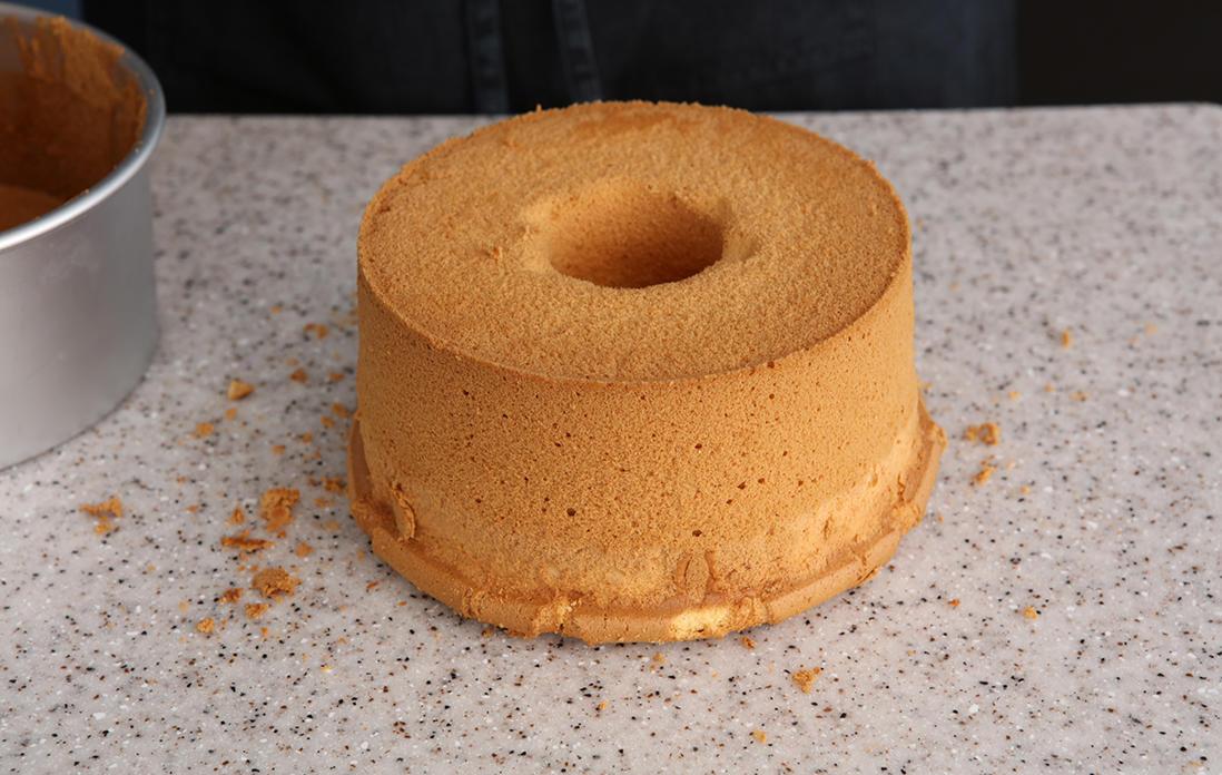 外す から タイミング シフォン 型 ケーキ